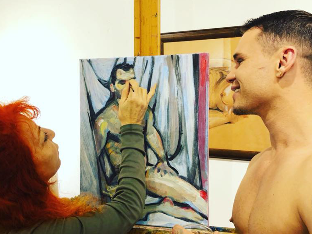 painting the nude