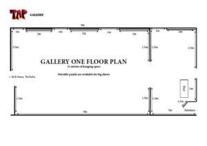 Gallery 1 floor plan